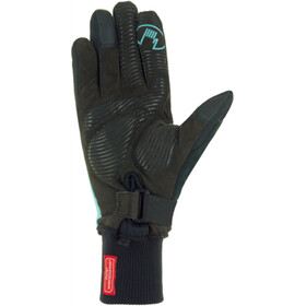 Roeckl Wallis Bike Gloves Damen black/turquoise